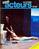 ACTEURS [No 36] du 01/05/1986 - THEATRE - REVUE DU THEATRE - MAIRIE DE PARIS - JEAN GENET - ELECTRE - CRACHATS DE LA LUNE - COMEDIE DE CAEN - CATHERINE ARDITI - ROLAND BERTIN - DOMINIQUE VALADIE - LES DEGOURDIS DE LA 11E.