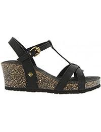 Sandales pour Femme PANAMA JACK JANELA B15 NAPA GRASS NEGRO