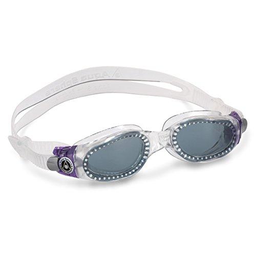 Aqua Sphere Kaiman Schwimmbrille LADY getöntes Glas (lila) [Misc.]