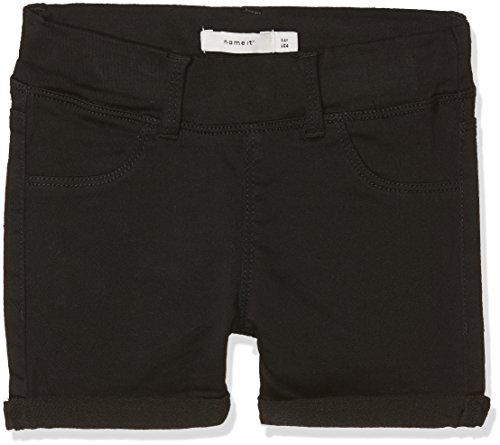 Name IT NOS Mädchen Shorts NKFSALLI TWITINNA AF NOOS, Schwarz (Black), (Herstellergröße: 152) - Mädchen Jeansshorts