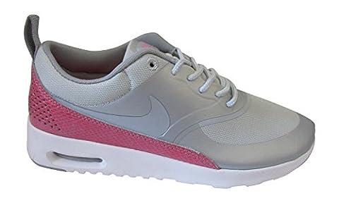 Nike Wmns Air Max Thea Premium (616723-601) - metallisch platin wolf grau weiß hyper 016, 6.5 UK / 40.5 EU / 9