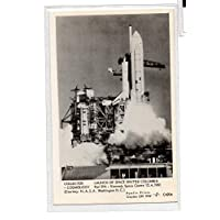 PPC1- C4204 - Cosmology Launch of Space Shuttle Columbia Pad39a keneddy space station 1981 - Pamlin print/postcard