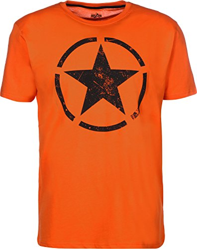 Preisvergleich Produktbild Alpha Industries Herren Oberteile/T-Shirt Star Orange XL