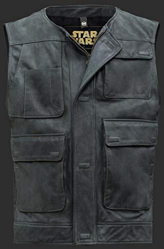 Matchless Han Solo Gilet en cuir 2/16 noir Noir 3xl