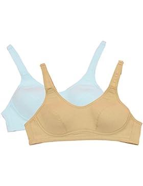 Topwhere® Mädchen-BH, Baumwolle Wirefree junge Mädchen BH-hohe Elastizität-Sport-BH