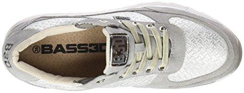 bass3d 041322, Sneaker Basse Donna Argento