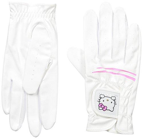 hello-kitty-ladies-golf-glove-set-pink-white-19cm
