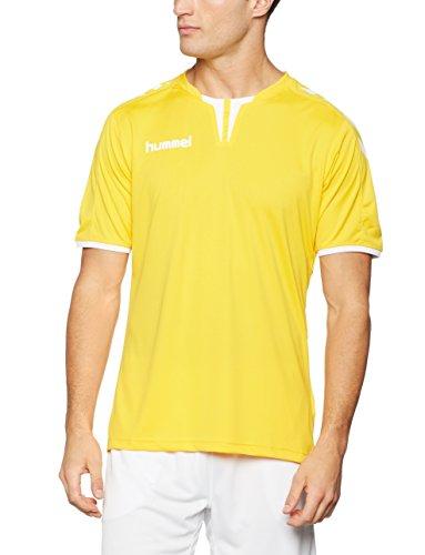 Hummel Herren Trikot Core Short Sleeve Poly Jersey, Sports Yellow, M, 03-636-5001 (Poly-hemd)