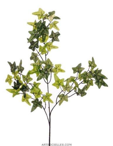 Artif-deco - Lierre artificiel en branche h 70 cm 51 feuilles vert - choisissez votre couleur: vert