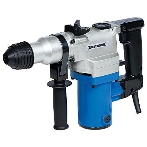 Silverline 633821 850W SDS+ Hammer Drill Perforateur Burineur Électrique à fil 850 W SDS-Plus