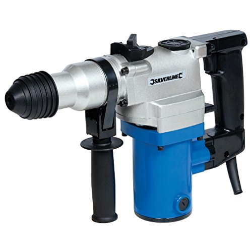 Silverline 633821, Taladro percutor SDS Plus 850 W
