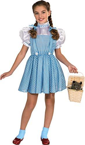Kostüm Dorothy Deluxe - Rubie's Deluxe Kostüm Dorothy Zauberer von Oz Mädchen
