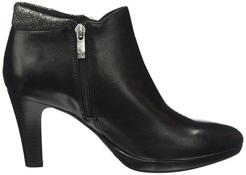 Caprice Damen 25341 Kurzschaft Stiefel Schwarz (BLACK COMB 19)