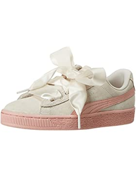Puma Suede Heart Jewel Jr, Zapatillas para Niñas