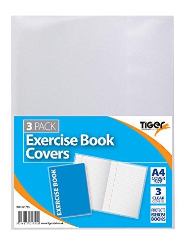 2 Packungen A4 Pk 3 Heft-Schutzhüllen, klar - insgesamt 6 Hüllen
