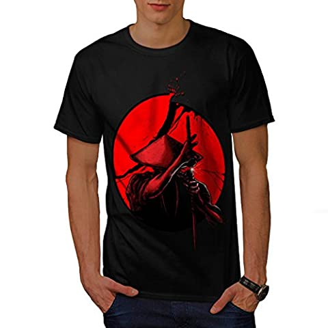 Japanese Warrior Men M T-shirt |