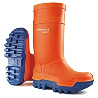Dunlop Protective Footwear Dunlop Purofort Thermo+ C662343, Safety Boots Unisex Adults, Orange (Orange), 9  (43 EU)