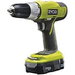 Ryobi 5133002250 4432039 R18DDP-L13S Perceuse-visseuse sans fil 18 V avec batterie/chargeur/accessoires