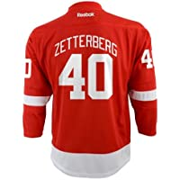 Henrik Zetterberg Detroit Red Wings NHL Youth Red Replica Jersey