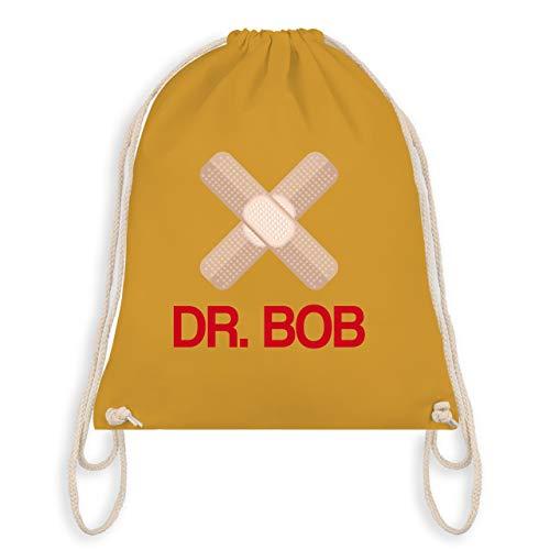 Karneval & Fasching - Dr. Bob Kostüm Pflaster - Unisize - Senfgelb - WM110 - Turnbeutel & Gym Bag