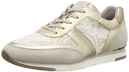 Gabor Shoes Gabor, Baskets femme Multicolore (42 beige/platino/vanille)