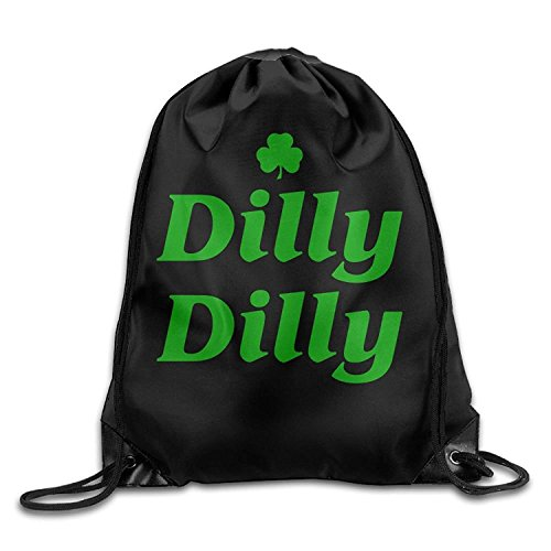 49d0705c Funny&shirt Dilly Dilly St. Patrick's Day Drawstring Pack Beam Mouth Sport  Bag Rucksack Shoulder Bags