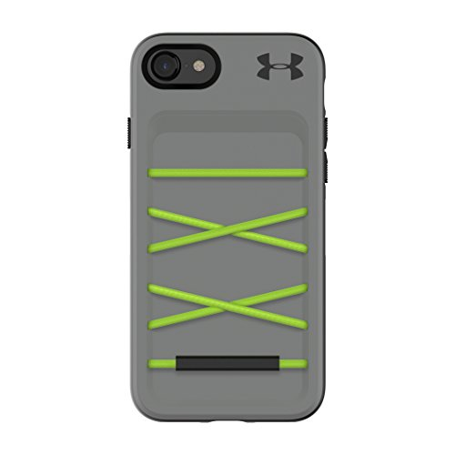 Under Armour UA Schützen Arsenal Case für iPhone 8 & iPhone 7 - Graphit/Quirky Lime
