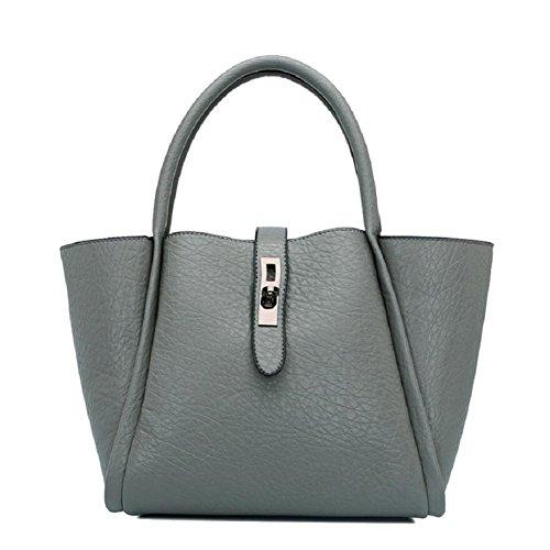 Z&N Frauen Luxus-Mode Umhängetasche Handtasche Diagonal-Paket Mehrzweck geeignet für formale Freizeitaktivitäten Party Hochzeit Outdoor Büro Reisen gray
