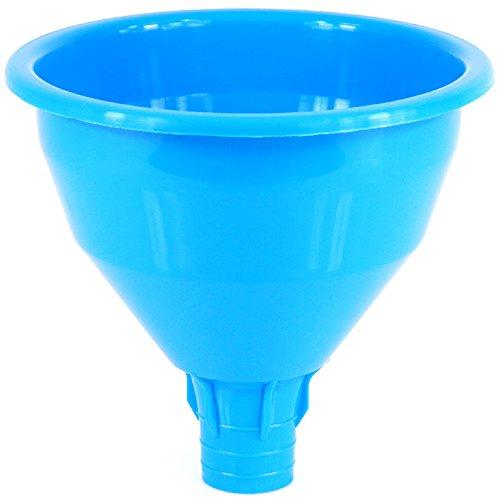 Einfülltrichter Fülltrichter Kunststoff Wein Weinballon Trichter 7 Farben 18 cm !!! (Dunkelblau)