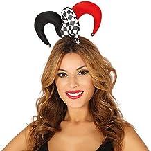 LUOEM Sombrero Disfraz de Bufón Adulto Gorro Payaso Navidad b015dab80da
