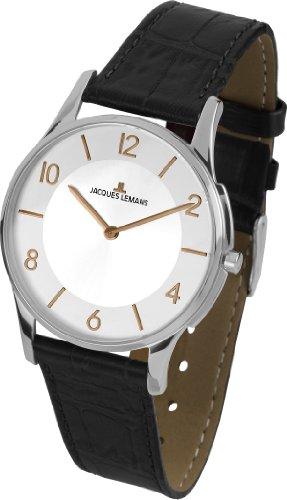 Jacques Lemans Unisex Watch London 1–1778 Analog Quartz K Leather