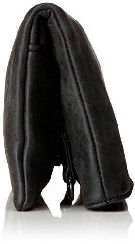 Borsa Damen Sonja Clutch, 2x14x28 Cm Schwarz02 (schwarz02)