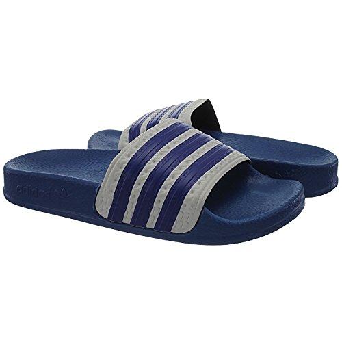 Adidas Adilette K Q22827 Kinder Badelatschen / Badesandalen / Duschsandalen Blau 36 -