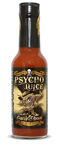 Psycho Juice pimienta ajo asado fantasma (paquete de 2)