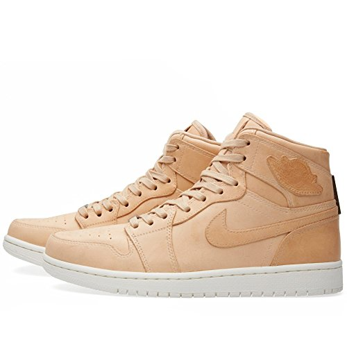 Nike Herren Air Jordan 1 Pinnacle Turnschuhe, Schwarz Braun (Vachetta Tan/Sail)