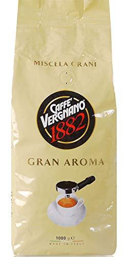 Caffè Vergnano 1882 Gran Aroma Ganze Bohnen, 3er Pack (3 x 1 kg)