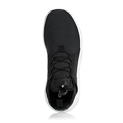 adidas X_plr, Baskets Basses Homme noir blanc