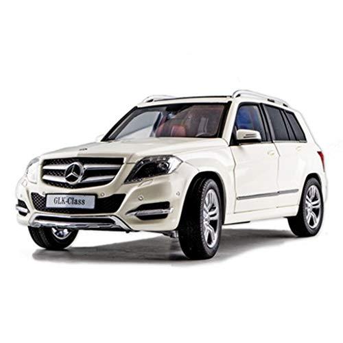 WSWJJXB 1/18 Fuoristrada SUV Modello di Auto Simulazione in Lega Modello di Auto, Dimensioni: 26X9X8CM (Bianco)