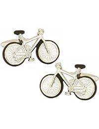 Gemelos de plata de bicicletas de David Van Hagen