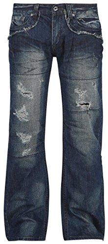 Forplay Salomon Jeans blu scuro W42L34