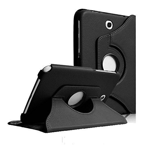 COOVY® Custodia per Samsung Galaxy Note 8.0 GT-N5100 GT-N5110 SMART 360° GRADI DI ROTAZIONE COVER SUPPORTO PROTEZIONE CASE | Colore nero