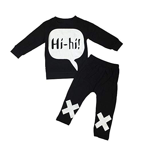 Snakell Unisex Baby Jungen Mädchen Kapuzenpulli Hosen Trainingsanzug Hoodie Outfits Set Baumwolle Kinder Nachtwäsche Kleines Kleid Jungen Sport-Anzug zweiteilig 3-24Month