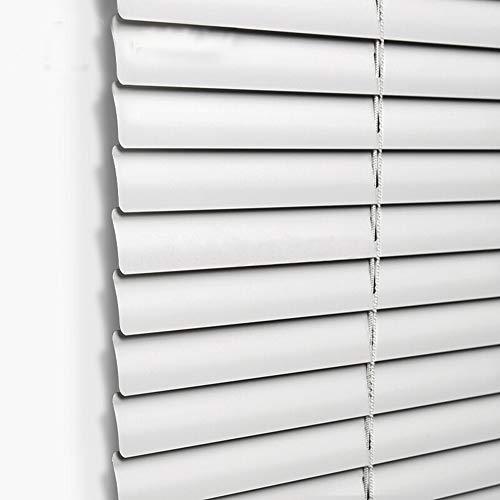 Taiyuhomes veneziana verticale in alluminio, per privacy e protezione, con clip e cordino di sicurezza , white, 60x160cm(wxl)