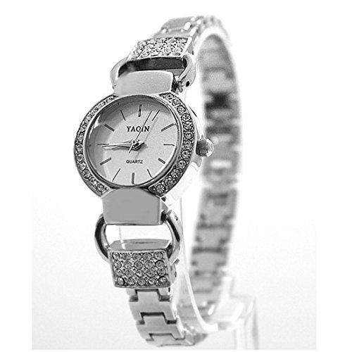 pnp-ronde-argent-brillant-watchcase-cadran-blanc-mesdames-femmes-montre-bracelet