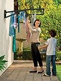 Hills Supa Fold Duo S3 (Midnight Sky) Folding Frame Clothesline Dryer Indoor/outdoor