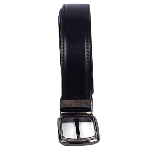 VIBHAN CHARLIE Reversible PU-Leather Formal Black/ TAN Belt For Men(Color-BLACK / TAN ) Best for Gifting
