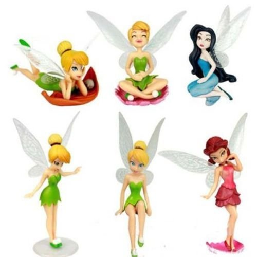 B-Creative Tinkerbell Cake Figure Topper Toy Fairy Princess Cake Decorations Disney ()
