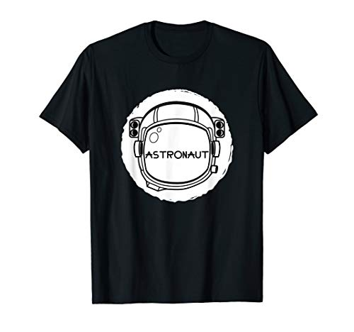 Weltraum Helm Kostüm Den Für - Astronaut Weltraum Helm Lazy Halloween Kostüm Lustig T-Shirt