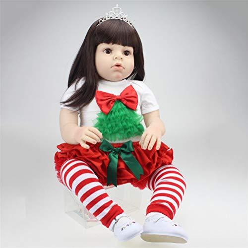 RENYAYA 70 CM Bebé Niños Reborn Baby Doll Suave Vinilo de Silicona Realista Recién Nacido Bebé de Juguete para Niños Niñas Playmate Regalo de Cumpleaños