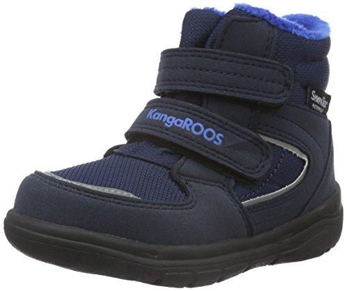 KangaROOSSympa In 2108 - Stivaletti corti imbottiti Unisex - Bambini , Blu (Blau (dk navy/royal blue 481)), 26